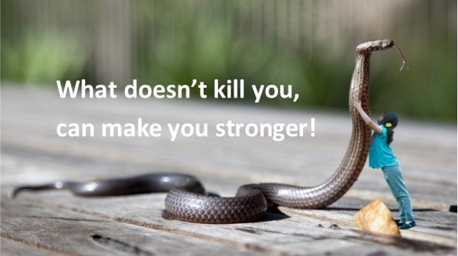 What I learned from snakes in my bed: Overcoming fear related to childhood sexual abuse
